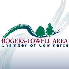 rogers-lowell area chamber of commerce logo